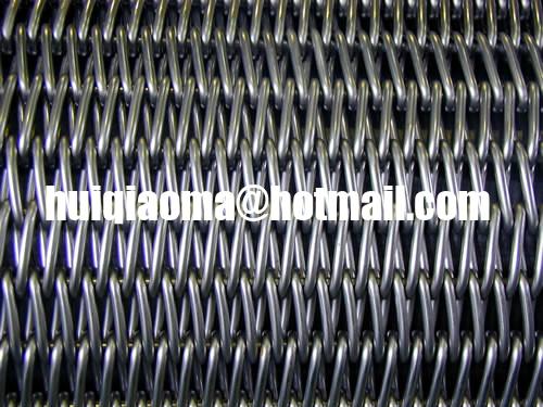 Gratex Improved Balanced Weave Belting Flattened Wire