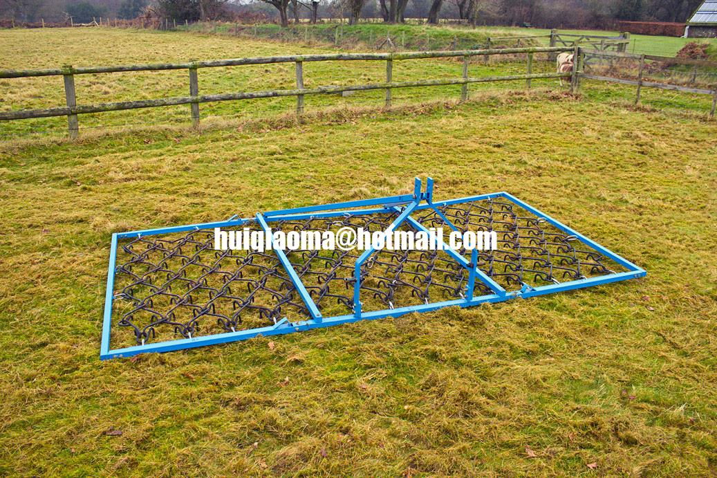 Harrow Drag Frame : Framed harrows ghl ft wide chain drag harrow farm